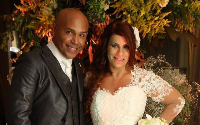 Casamento do cantor Rick e Geralda