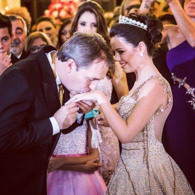 Festa de Debutante Brenda Belíssimo - Festa de Debutante Palácio dos Cedros
