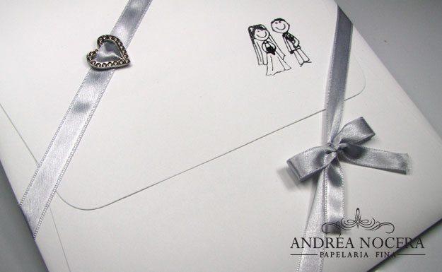 Convite de Casamento Pequeno