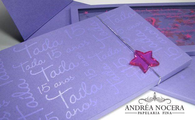 Convite com Estrelas