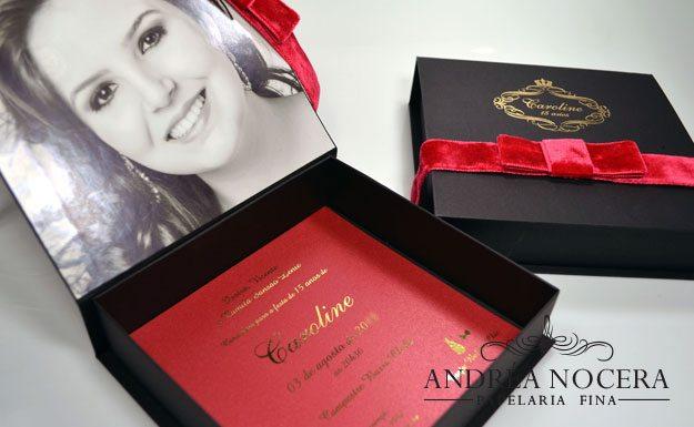 Convite de Debutante com Foto