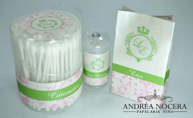 Kit-Toalete Rosa e Verde