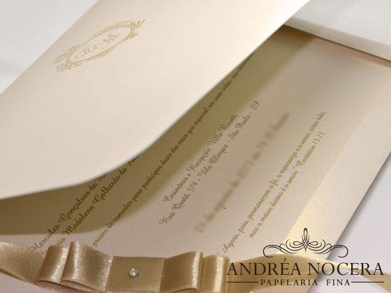 Convite Clássico de Casamento