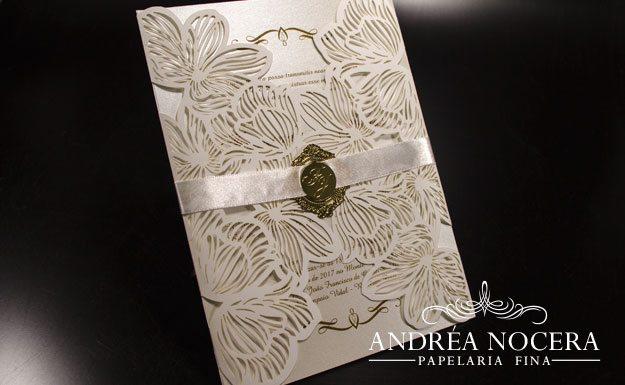 Envelope com Corte a Laser