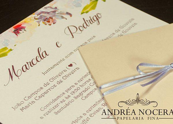 Convite de Casamento Promoção