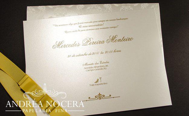 Convite 80 Anos Atelier Andrea Nocera