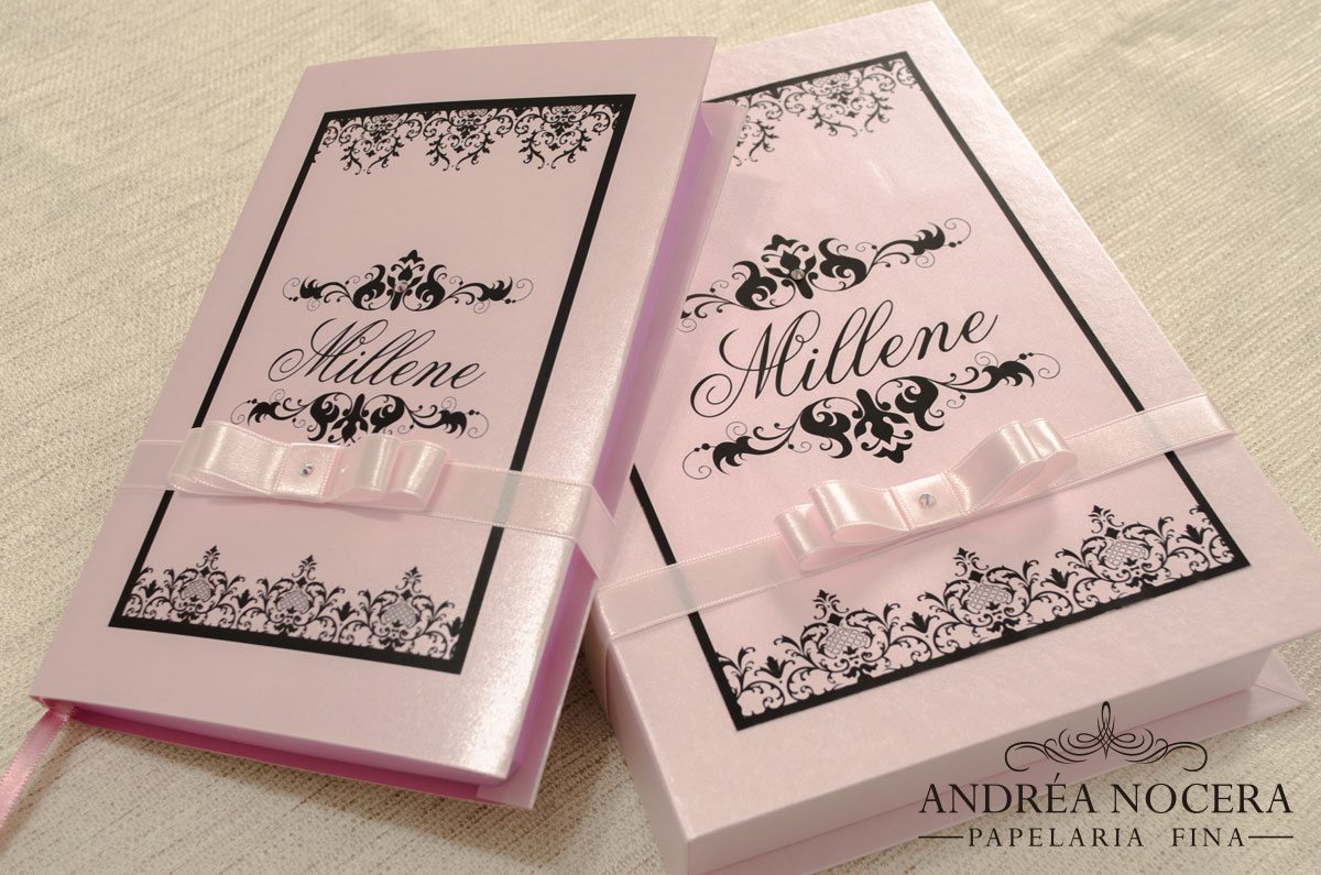 Caixa para Bíblia - Lembrancinha para festa de debutante