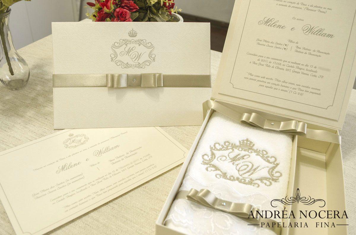 Convite de Casamento Ideal