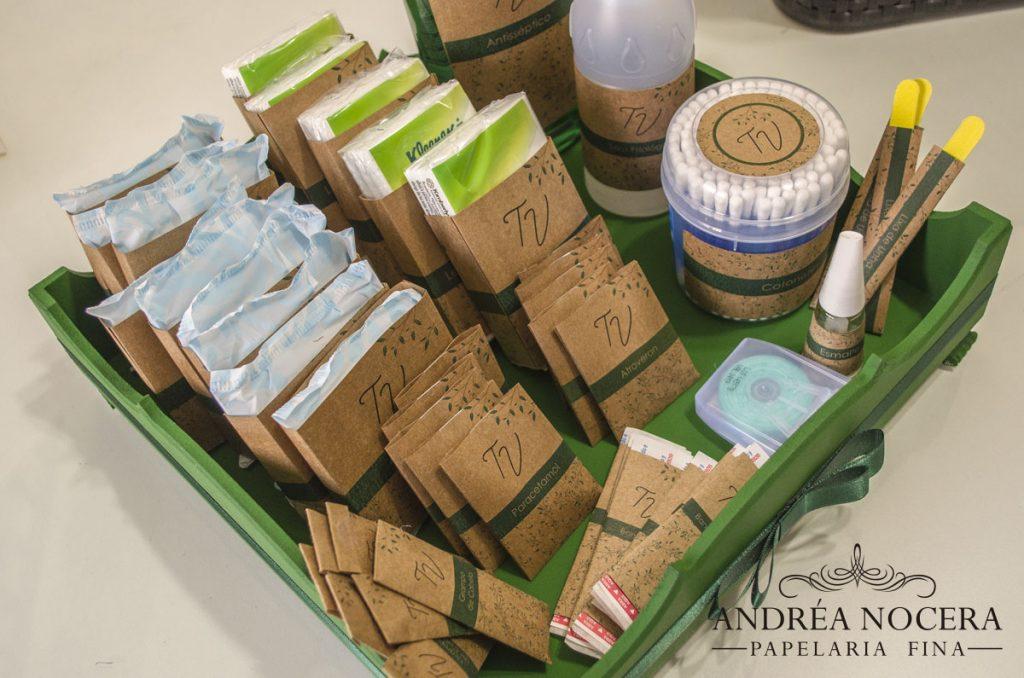 Kit-Toalete em Papel Kraft