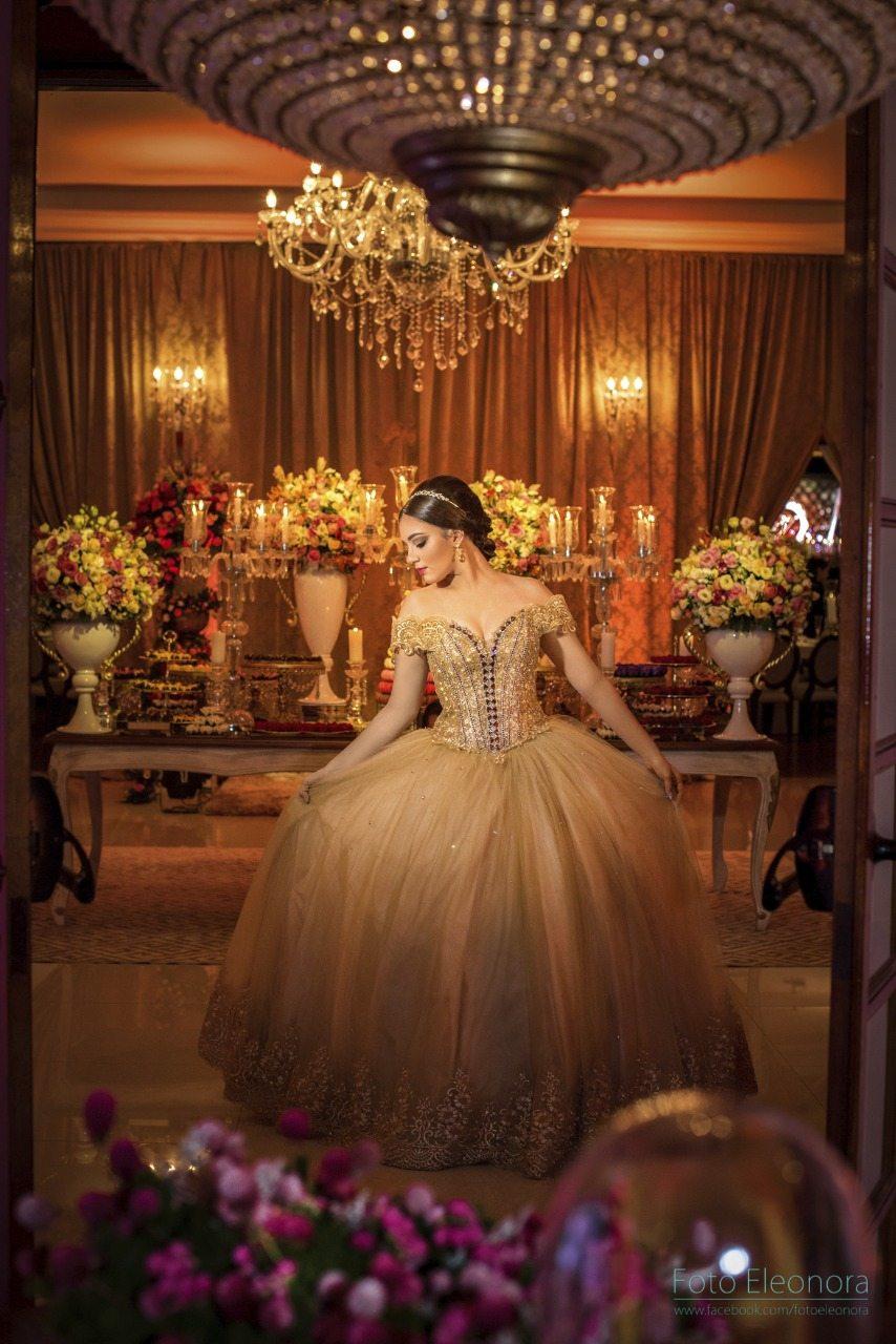 Festa de debutante de princesa