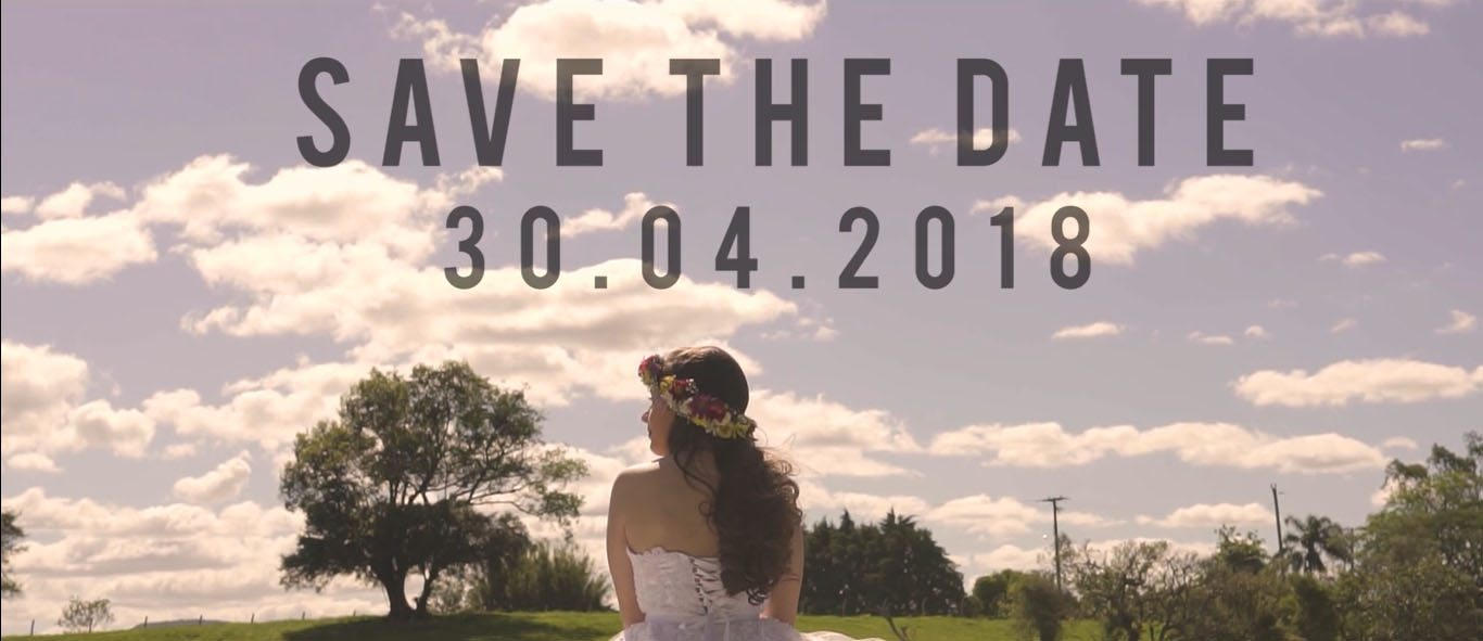 Save The Date em Video