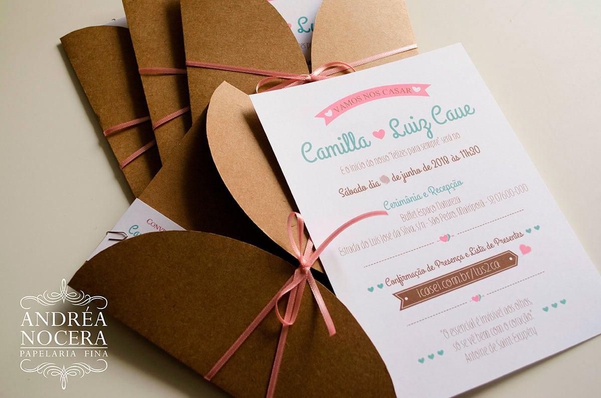Convite para Casamento no Campo