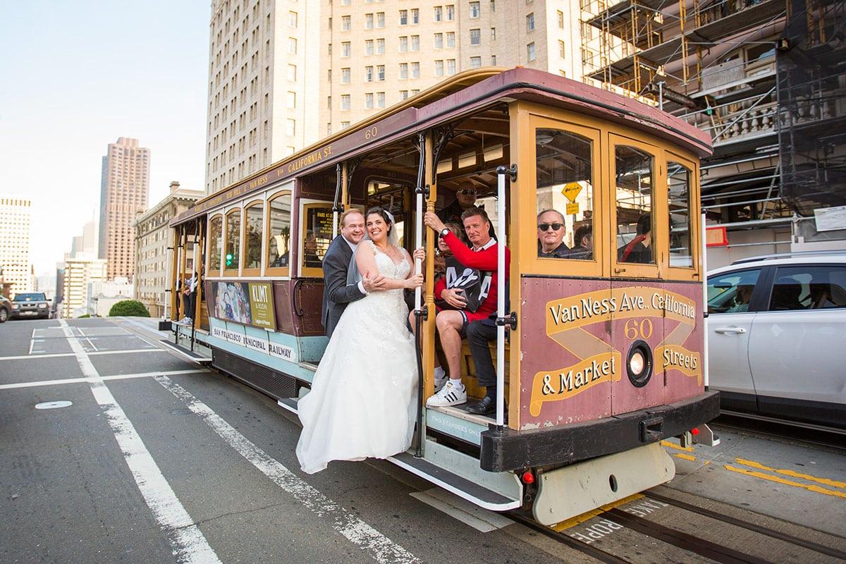 Casamento nos EUA de Rita e Howard