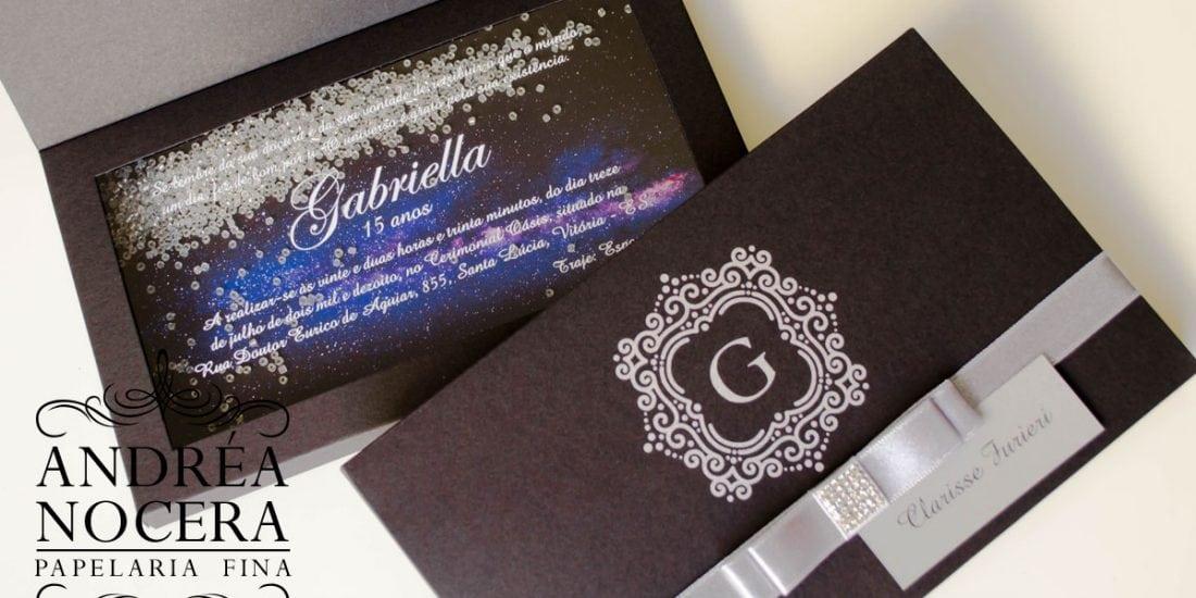 Convite de Debutante Geek de Caixa