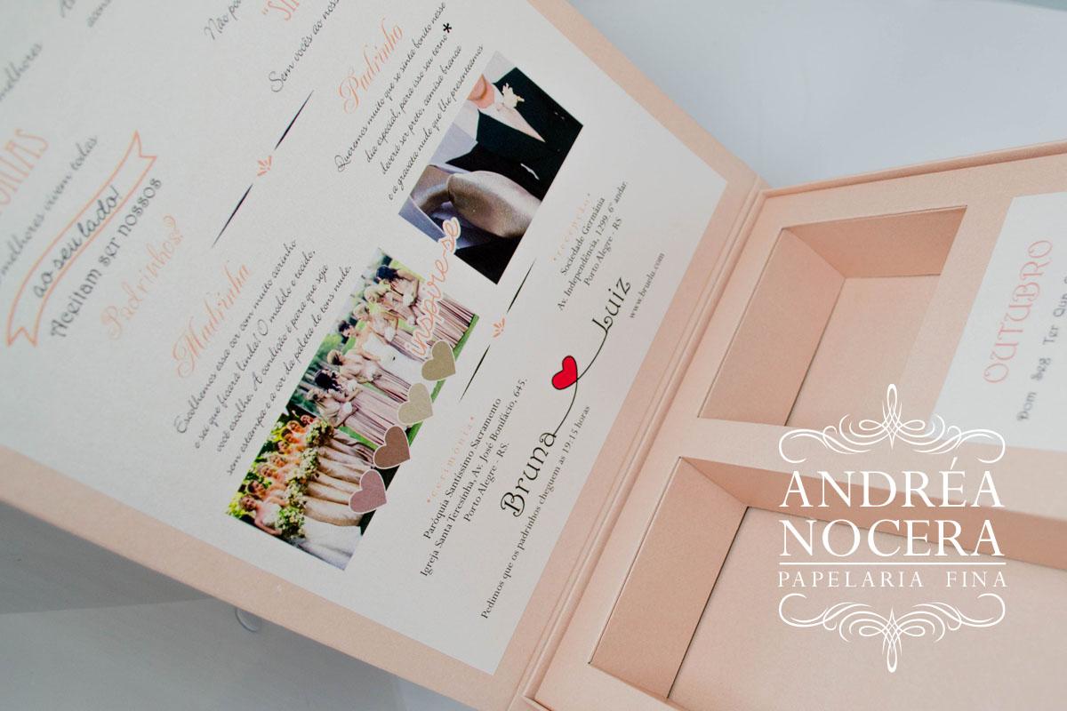 Convite de Casamento com Dress Code