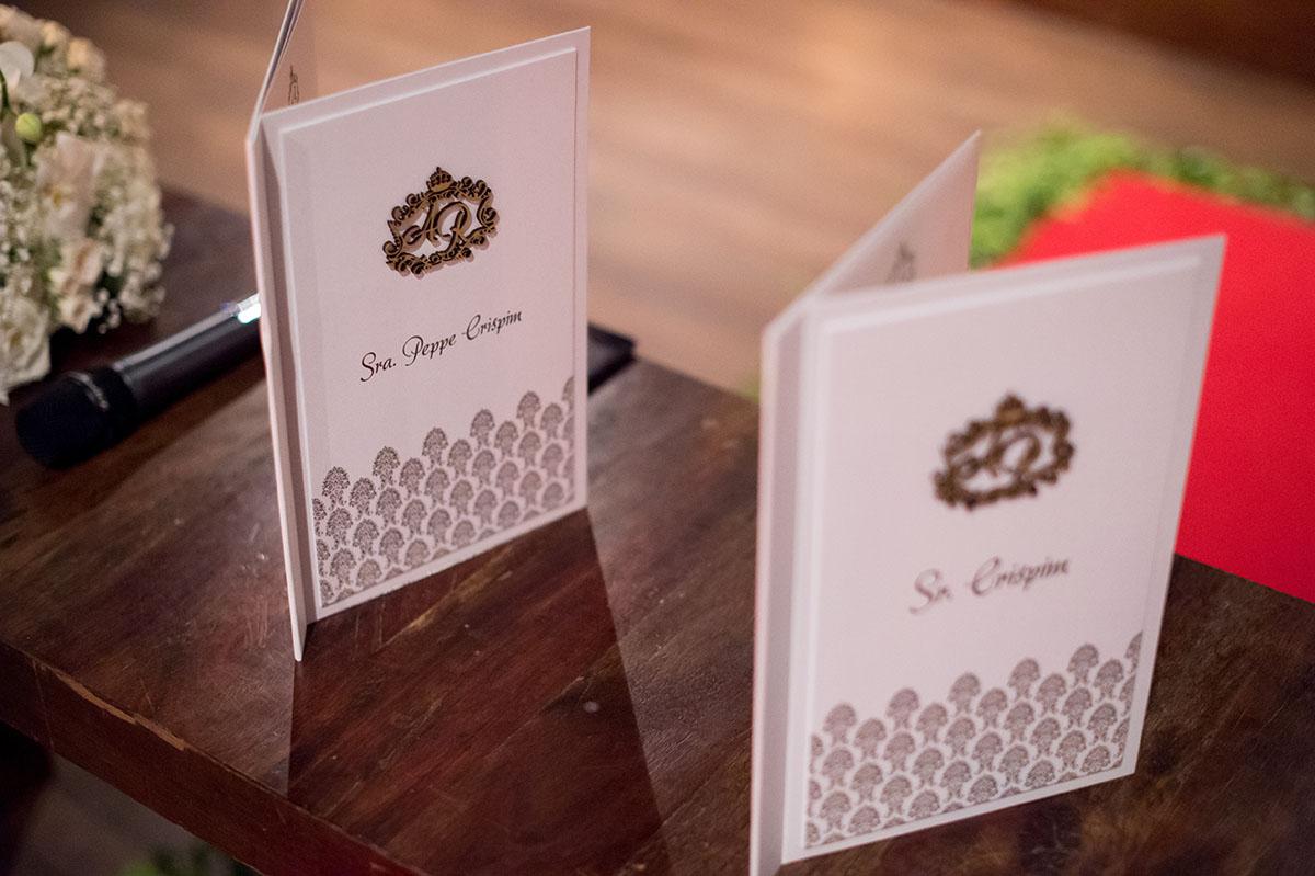 Votos dos noivos - Casamento no Vila Bisutti