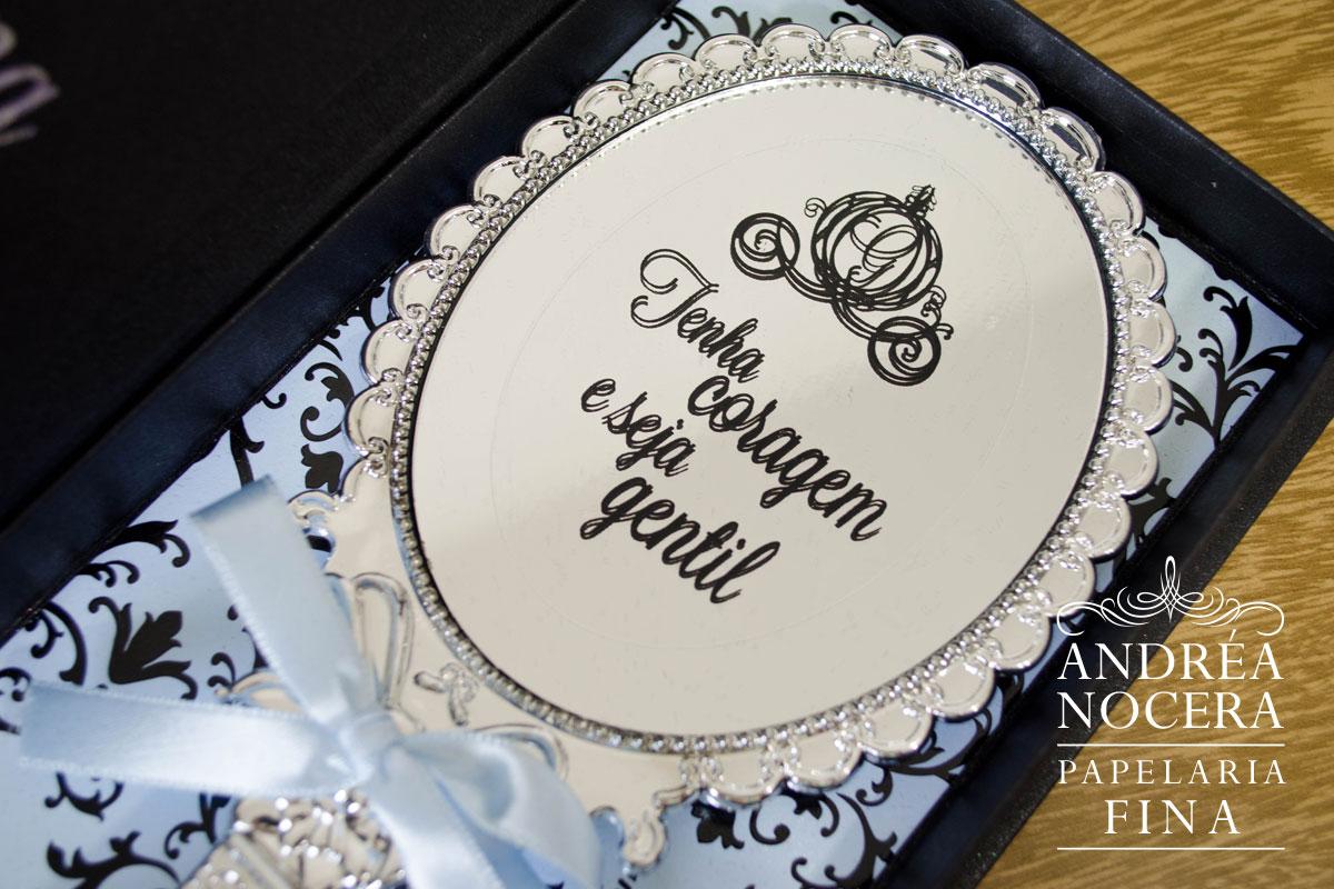 Convite Debutante Cinderela