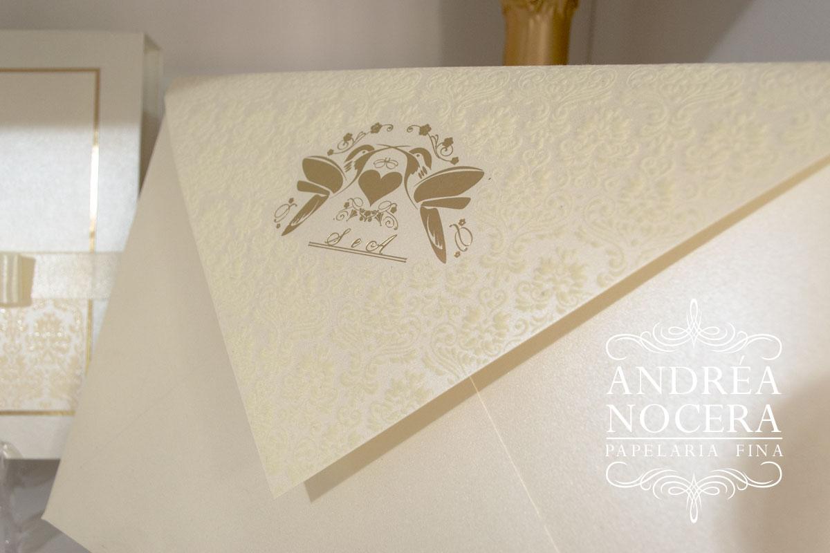 Convite de Casamento de Bico