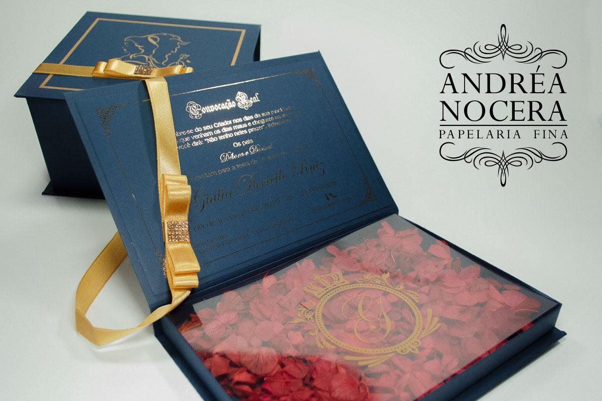 Convite de Debutante Floral