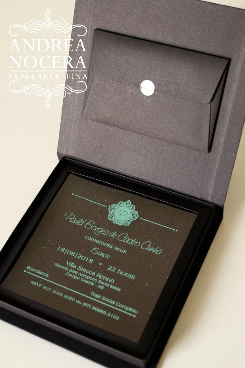 Convite Box para Debutante