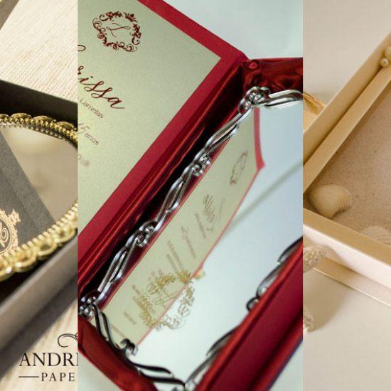 Convite de Luxo para 15 anos