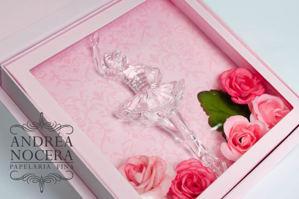 Bailarina com flores