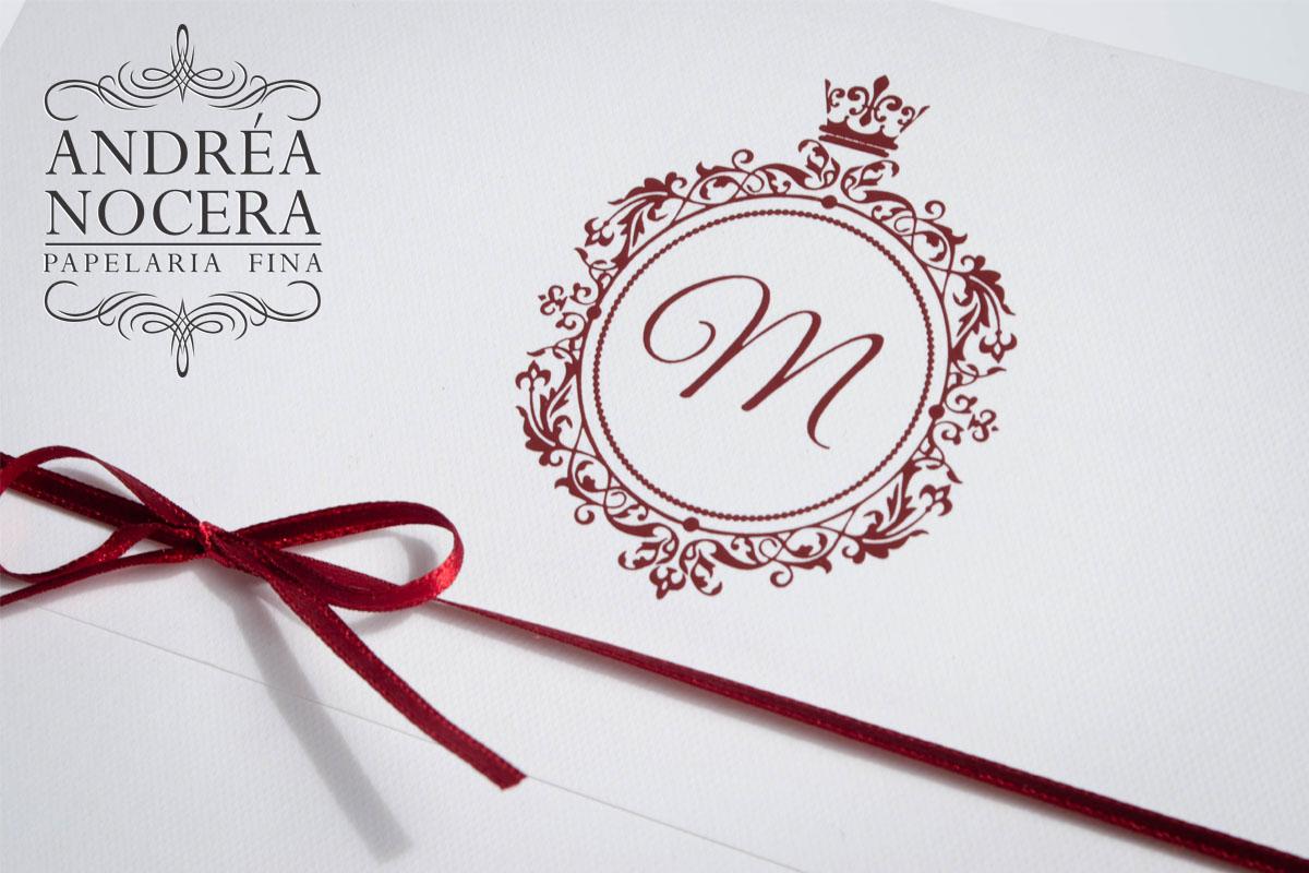 Convite Floral cor Marsala para 15 anos