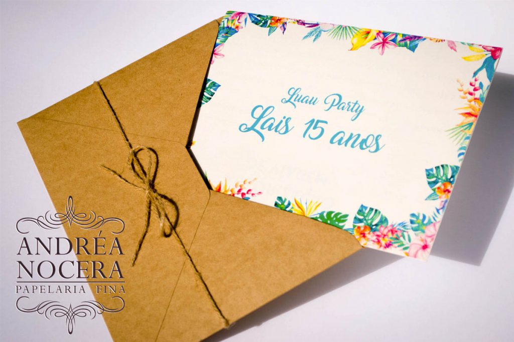 Convite para Luau